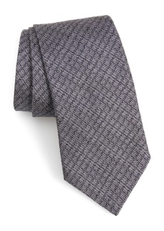 John Varvatos Star USA Check Silk Tie