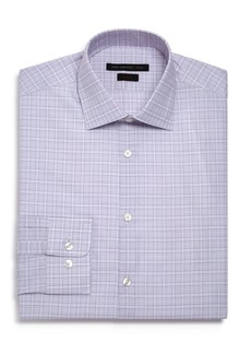 John Varvatos Star USA Checked Graph Slim Fit Dress Shirt