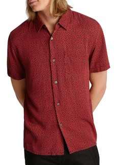 John Varvatos Star USA Chinese New Year Trent Printed Easy Regular Fit Shirt