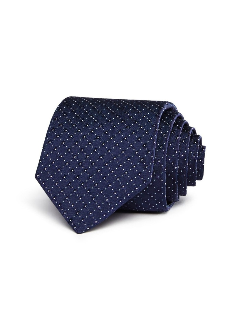 John Varvatos Star USA Circle & Pindot Classic Tie