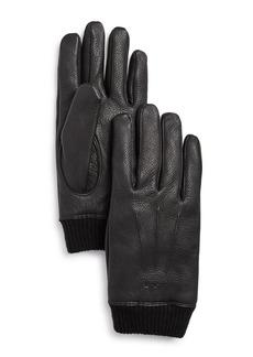 John Varvatos Star USA Classic Knit Cuff Gloves
