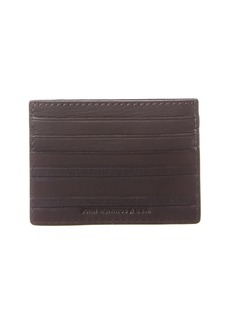 John Varvatos Star U.S.A. Clawed Textured Leather Card Case