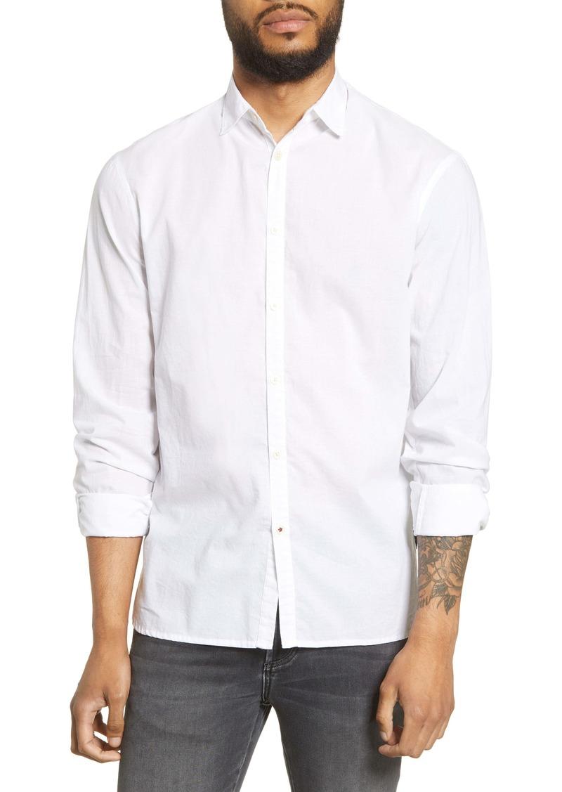 John Varvatos Star USA Clayton Slim Fit Button-Up Shirt