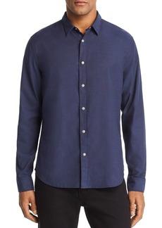 John Varvatos Star USA Clean Snap-Front Regular Fit Oxford Shirt