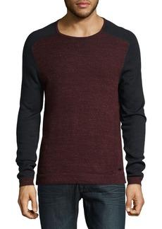 John Varvatos Star U.S.A. Colorblock Long-Sleeve Sweater