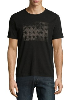 John Varvatos Star U.S.A. Crewneck Cotton Tee