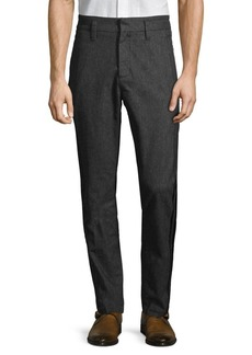 John Varvatos Star U.S.A. Cuffed Flat Iron Trousers
