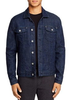John Varvatos Star USA Denim Slim Fit Trucker Jacket