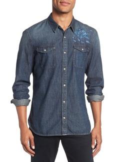 John Varvatos Star USA Desert Rose Denim Shirt