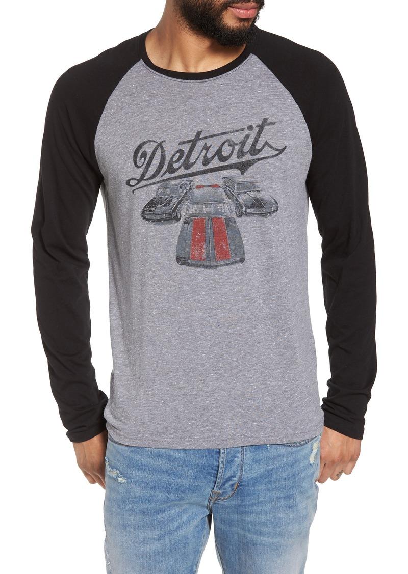 7edbf2f3 John Varvatos John Varvatos Star USA Detroit Cars Baseball T-Shirt ...