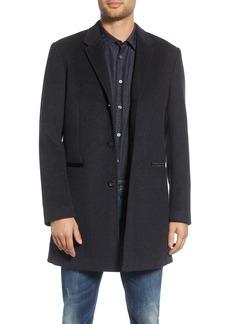 John Varvatos Star USA Devin Wool Blend Coat