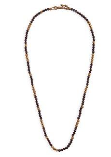 John Varvatos Distressed Bead Necklace