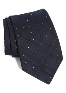 John Varvatos Star USA Dot Crosshatch Tie
