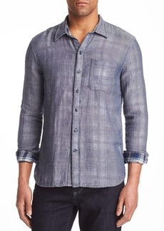 John Varvatos Star USA Double-Faced Reversible Button-Down Shirt