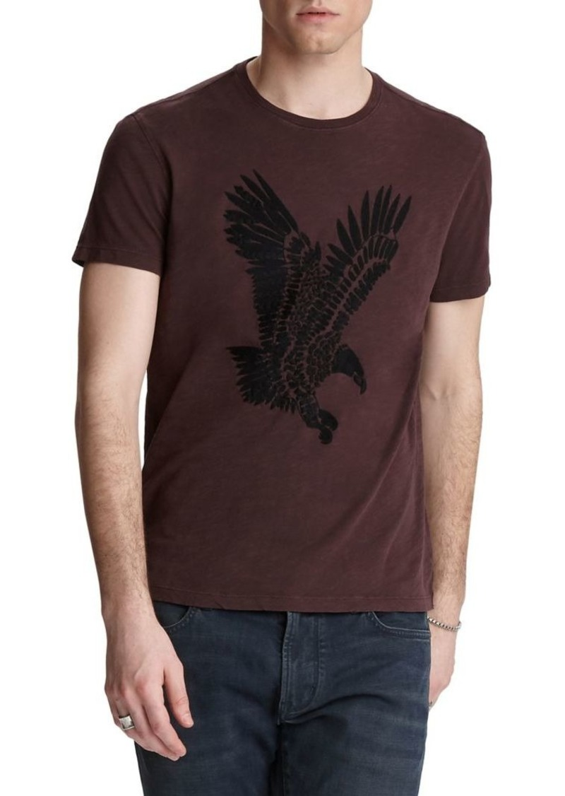 John Varvatos Star U.S.A. Eagle Cotton Tee