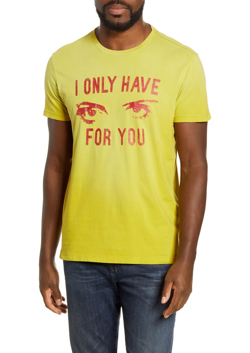 John Varvatos Star USA Eyes for You T-Shirt