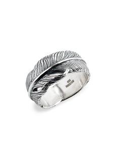 John Varvatos Feather Ring