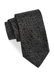 John Varvatos Star USA Filmore Scattered Skull Silk Classic Tie
