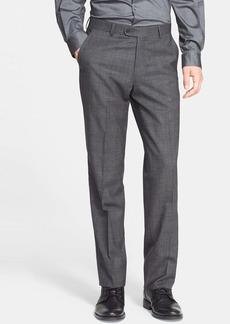 John Varvatos Star USA Flat Front Plaid Trousers