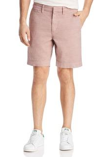 John Varvatos Star USA Flat-Front Shorts