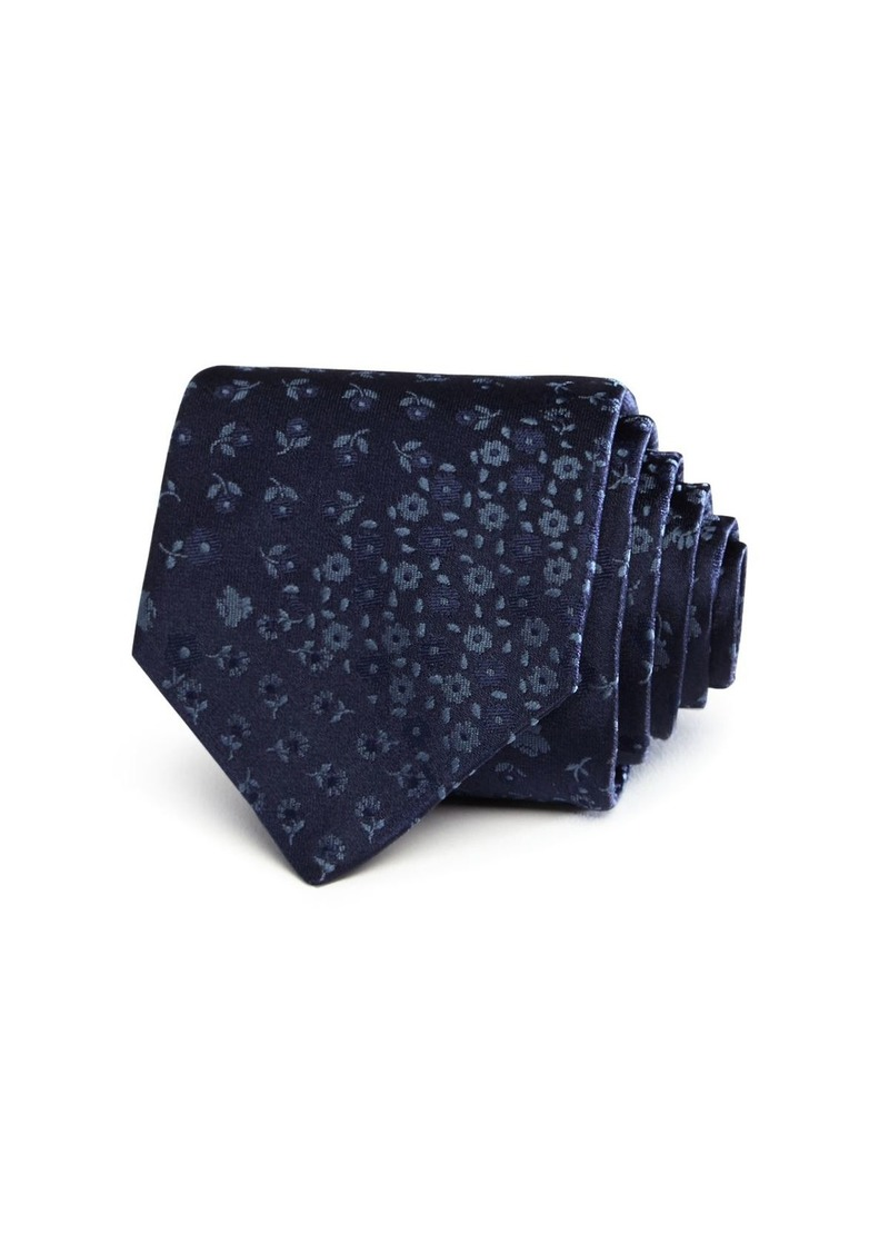 John Varvatos Star USA Floral Classic Tie