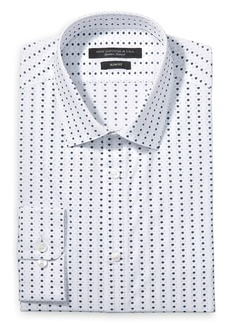 John Varvatos Star USA Florette Print Slim Fit Dress Shirt