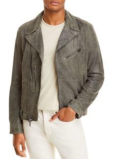 John Varvatos Star USA Franco Leather Slim Fit Biker Jacket