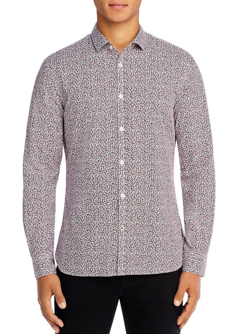 John Varvatos Star USA Fulton Floral Regular Fit Shirt