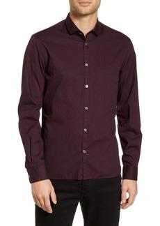 John Varvatos Star USA Fulton Regular Fit Floral Button-Up Sport Shirt