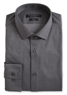 John Varvatos Star USA Geo Pattern Jersey Slim Fit Dress Shirt