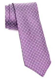 John Varvatos Star USA Geometric Silk Tie