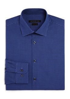 John Varvatos Star USA Gingham Check Slim Fit Stretch Dress Shirt