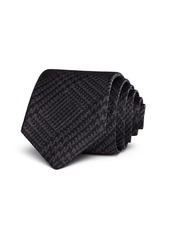 John Varvatos Star USA Glen Check Classic Tie