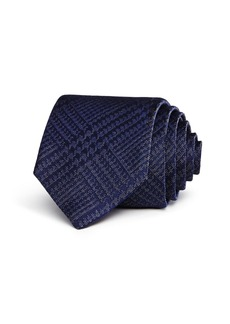 John Varvatos Star USA Glen Check Classic Tie
