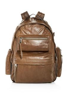 John Varvatos Star USA Gramercy Leather Backpack