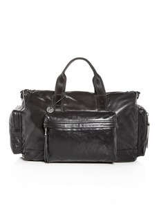 John Varvatos Star USA Gramercy Leather Duffel Bag