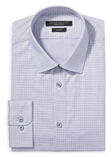 John Varvatos Star USA Graph Check Slim Fit Dress Shirt
