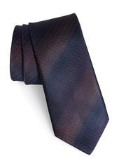 John Varvatos Star USA Herringbone Cotton & Silk Tie