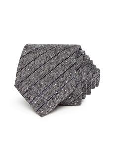 John Varvatos Star USA Herringbone Paneled Silk Classic Tie