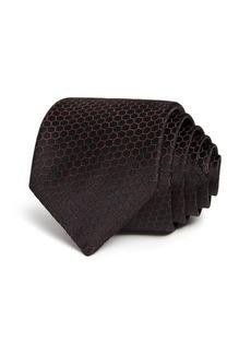 John Varvatos Star USA Honeycomb Silk Classic Tie