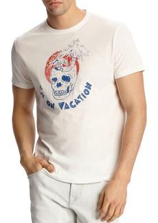 John Varvatos Star USA I'm On Vacation Graphic Tee