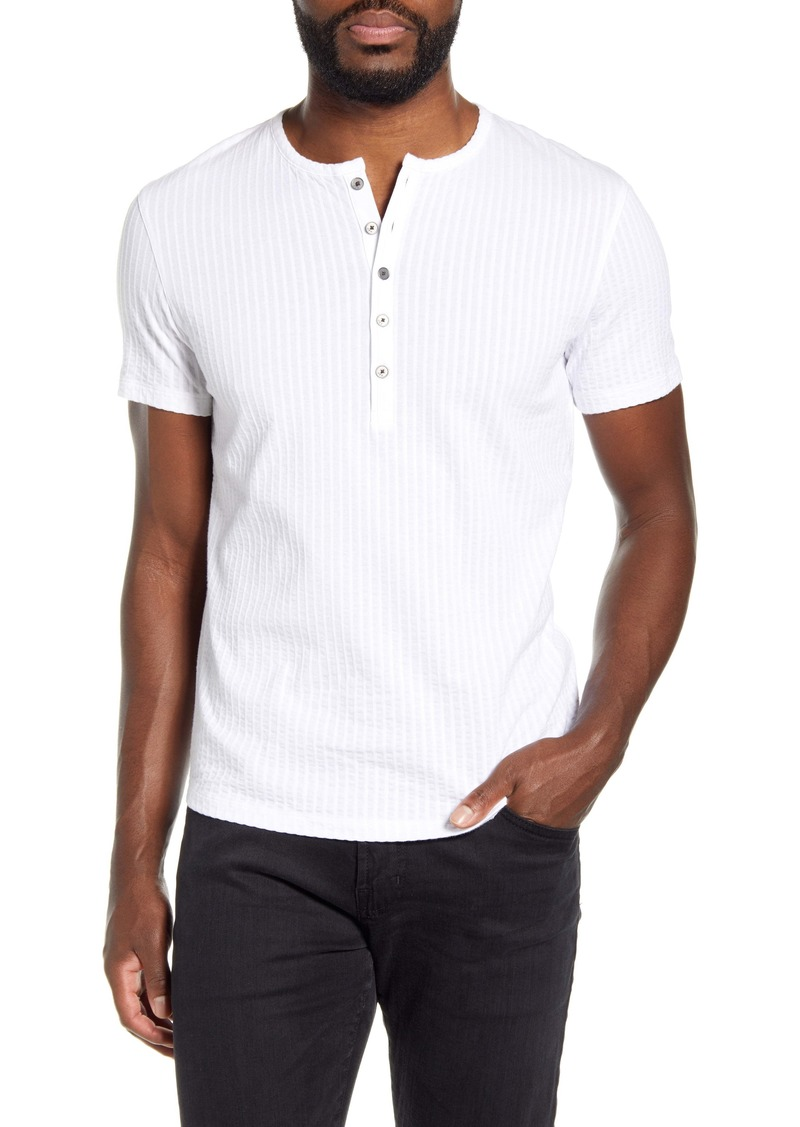 John Varvatos Star USA Irving Ribbed Henley