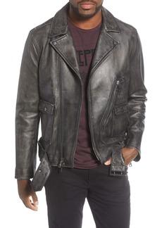 John Varvatos Star USA Lambskin Leather Jacket