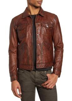 John Varvatos Star USA Leather Jacket