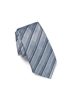 John Varvatos Star USA Linen Tonal Stripe Classic Tie