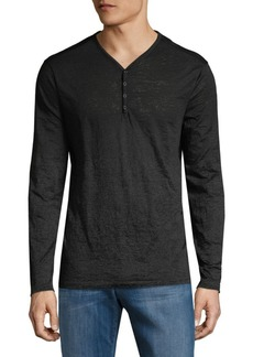 John Varvatos Star U.S.A. Long-Sleeve Henley