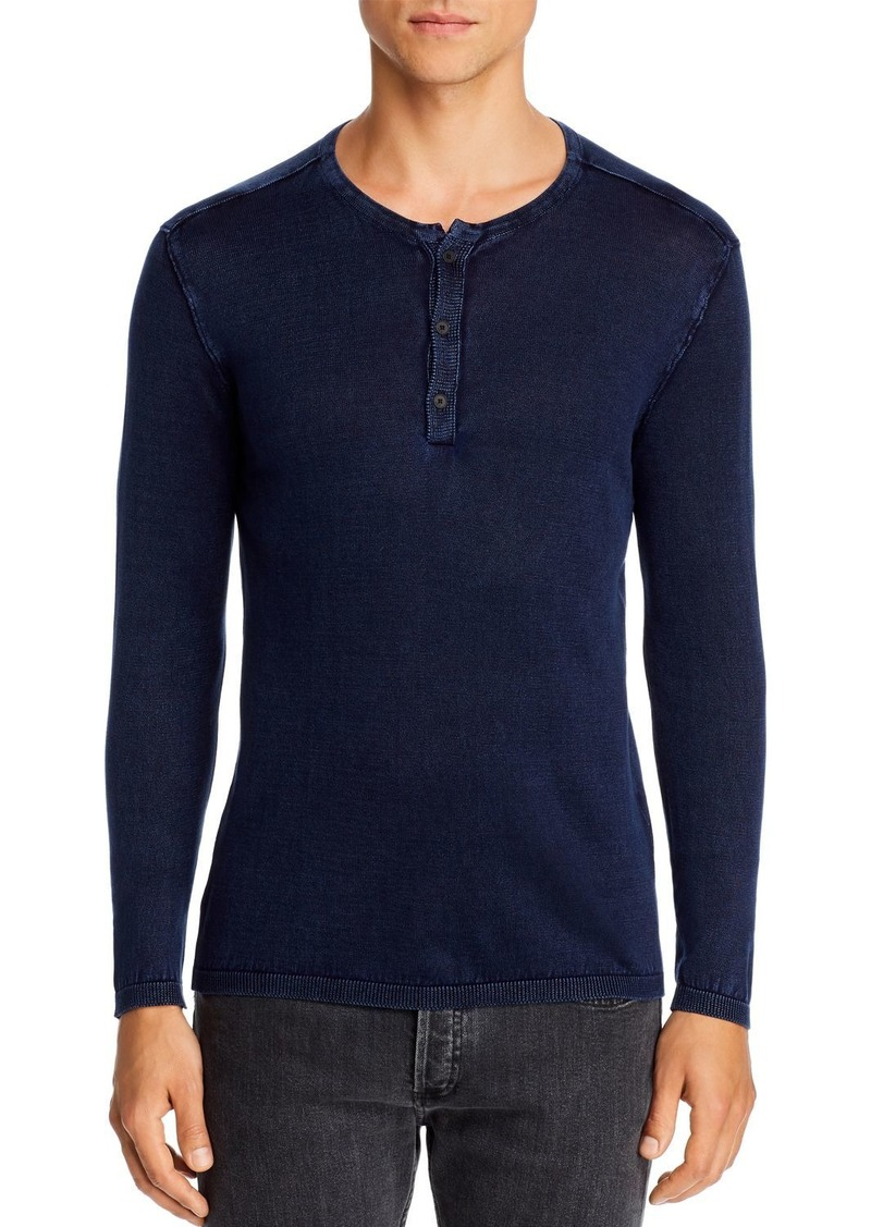 John Varvatos Star USA Long-Sleeve Henley