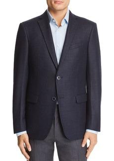 John Varvatos Star USA Melange Basketweave Slim Fit Wool Sport Coat