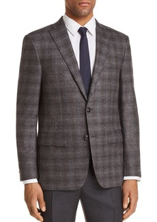 John Varvatos Star USA Plaid Slim Fit Sport Coat