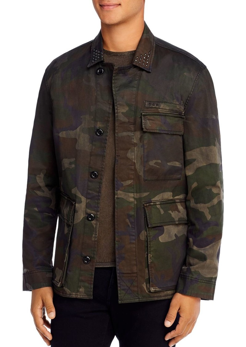 John Varvatos Star USA Lydon Slim Fit Camo Jacket